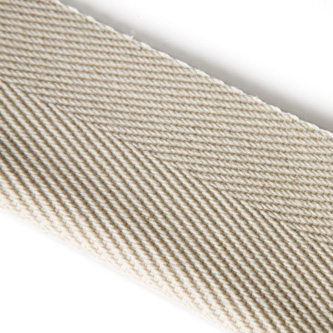 "The quality ""JUTE"" is a high quality woven binding tape with a warp and a weft of 100 % Jute. The design of tape is a plain weave."